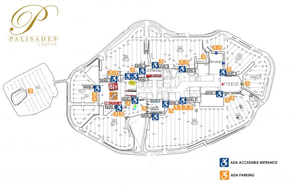 Palisades Mall Map Help   Guest Services & Accessibility at Palisades Center