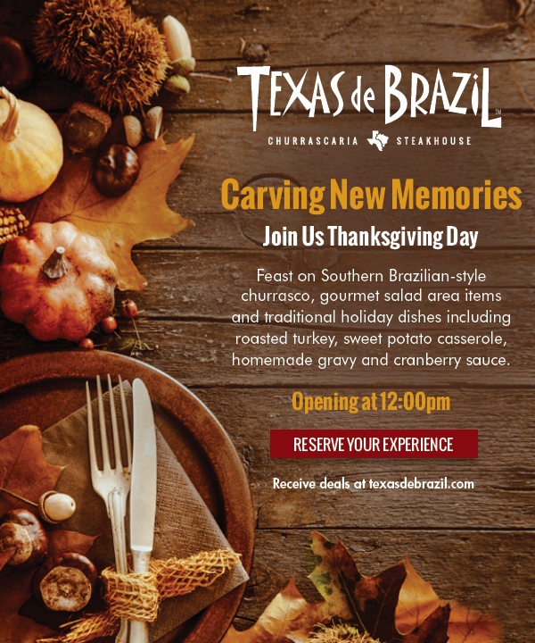 Restaurantfoodmenu is an online guidance for Texas de Brazil menu, providing prices information of Texas de Brazil breakfast, specials, kids, value menu. But please be aware that the current menu and prices info may vary from each Texas de Brazil restaurant.