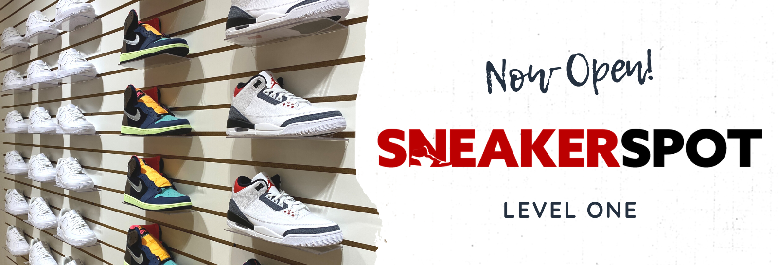 Sneaker Spot Now Open Slider 2020