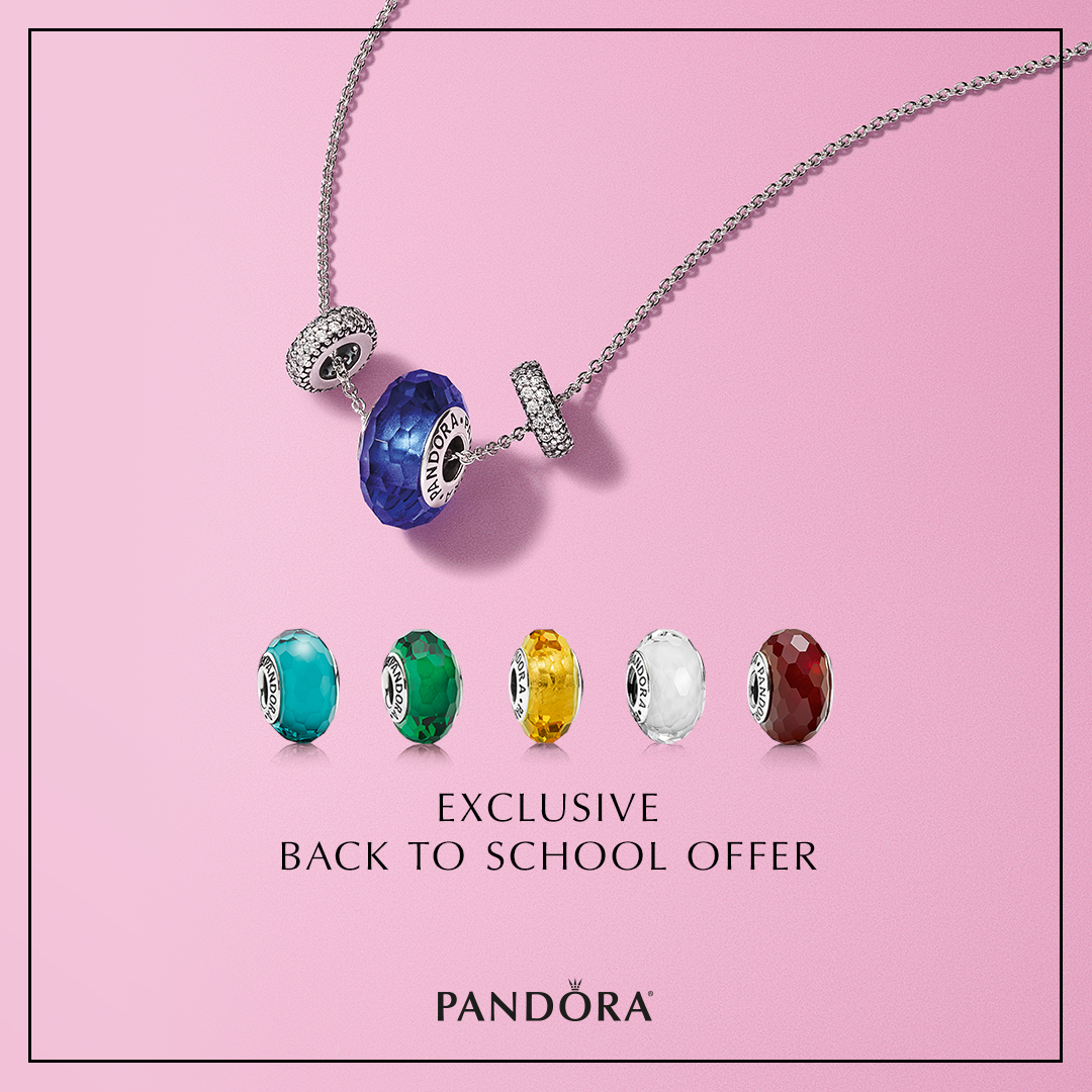 Pandora Necklace with Interchangeable Parts