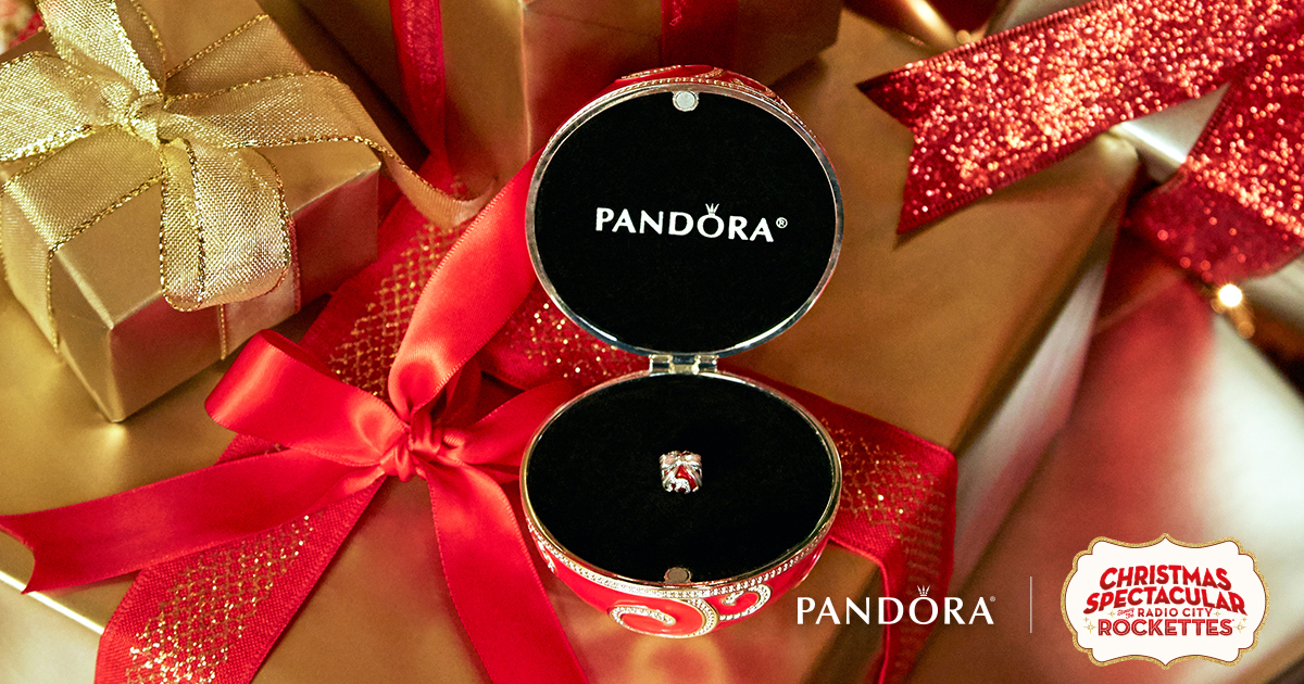 134756bc3 DO celebrate the holidays in style with the PANDORA eye-catching limited- edition enamel ornament and hand painted, sterling silver charm!
