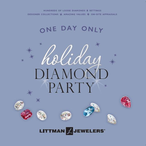 littman jewelers holiday diamond party palisades center