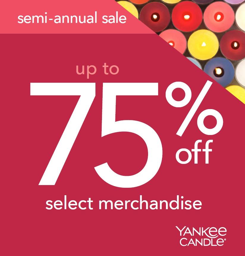 yankee candle semi sale 2018