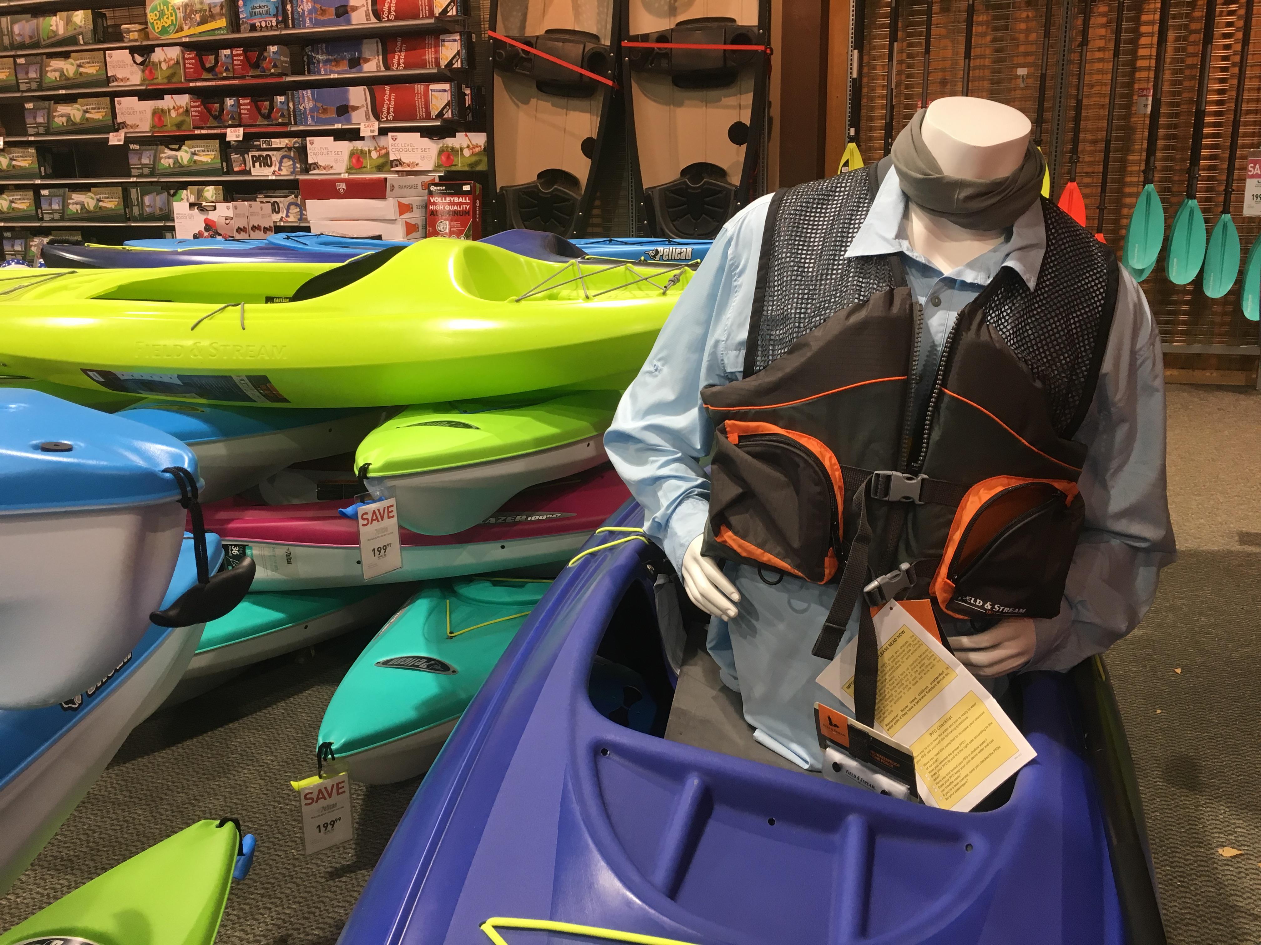 dicks sporting good kayak