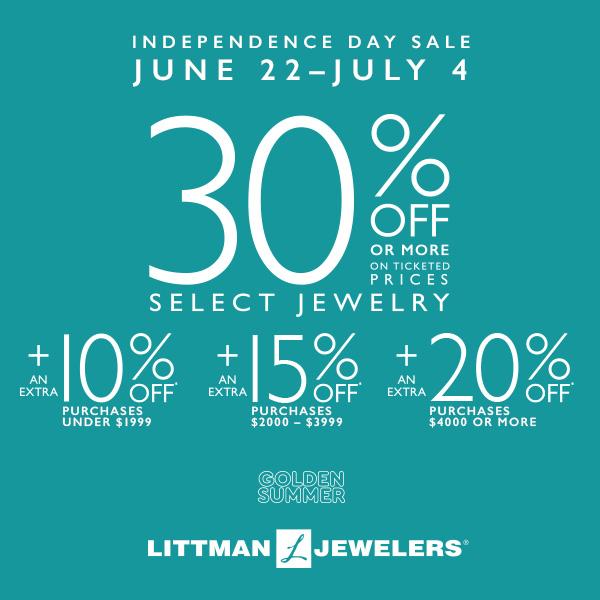 littman jewelers fourth of july 2018
