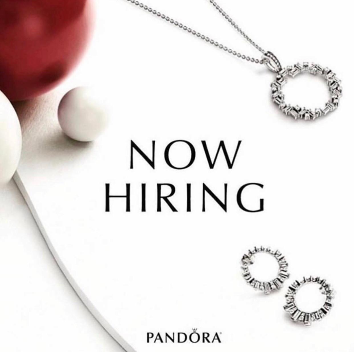 Seasonal Sales Associate At Pandora Jewelry Palisades Center