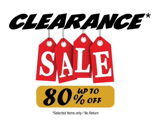 CLEARANCE LETTER SIZE