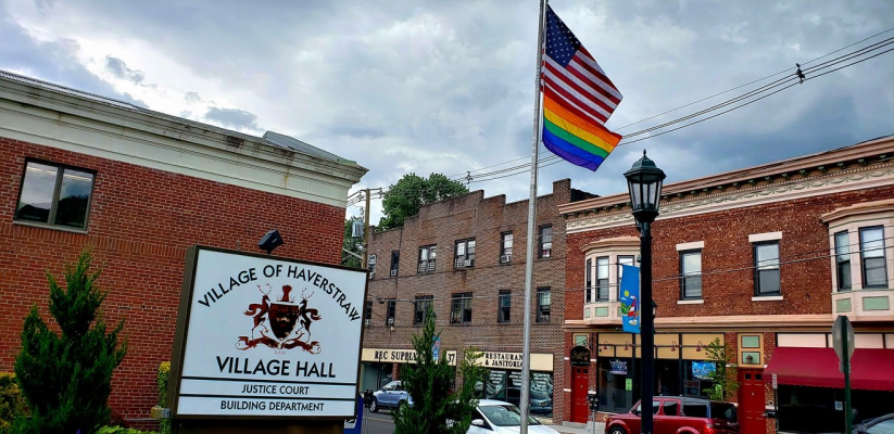 Flag Photo in Haverstraw 2018