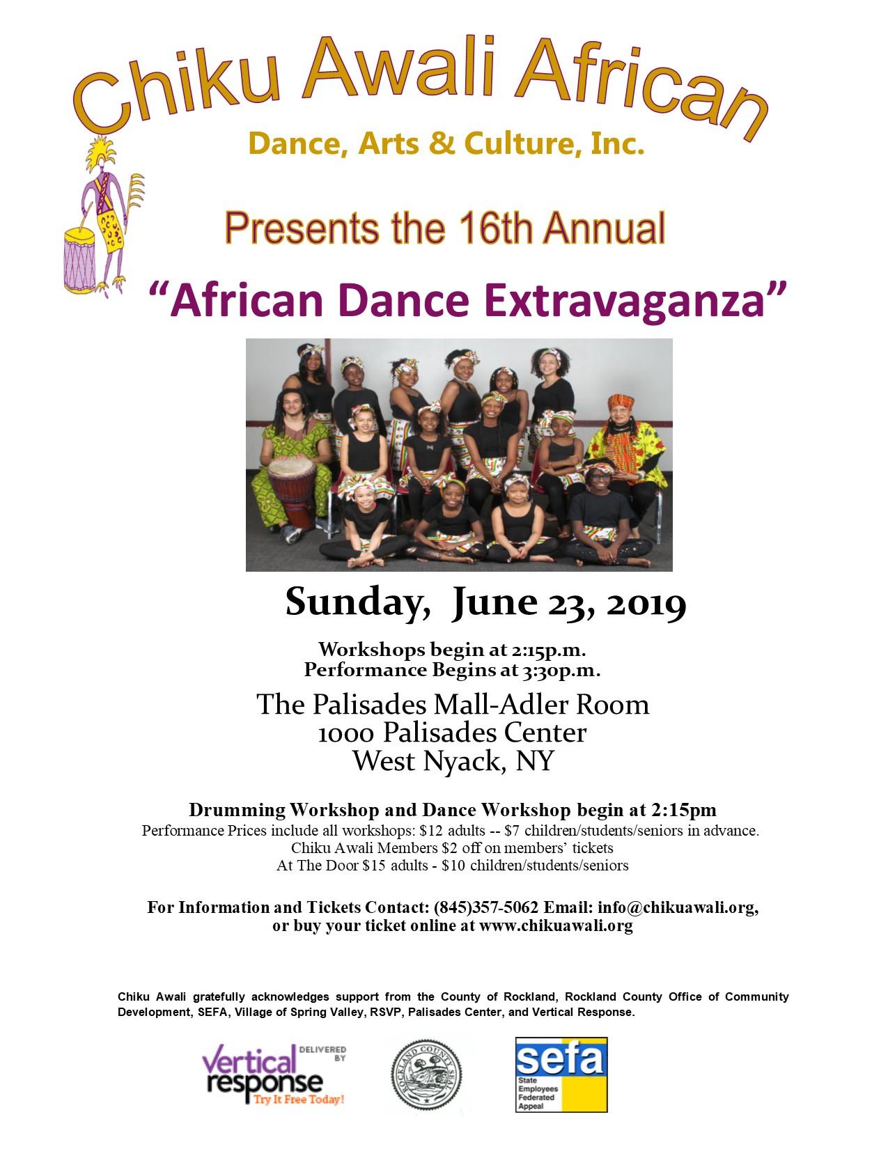extravaganza 2019 flyer