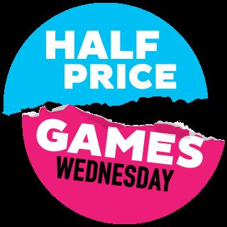 half price games logo