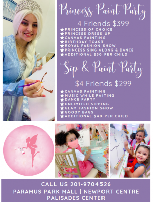 GG Princess Paint Party