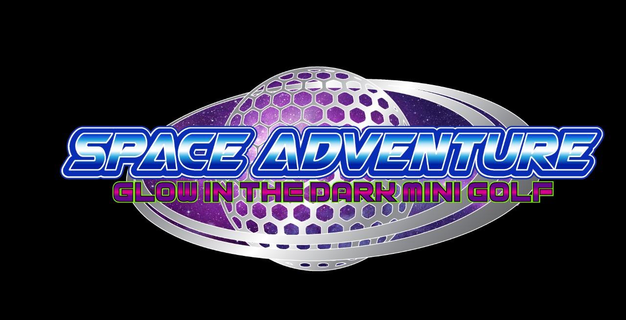 Space Adventure Glow in the Dark Mini Golf