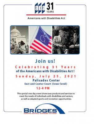 ADA Celebration BRIDGES Flyer July 25 2021