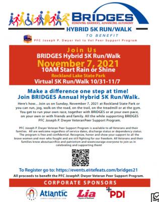 BRIDGES 5K Run Walk Flyer